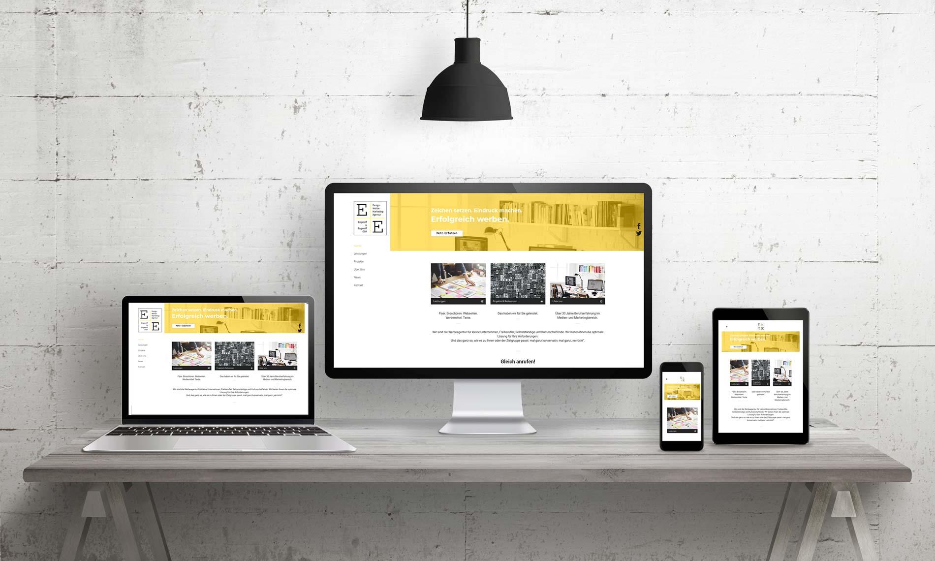 Ihre neue Webseite